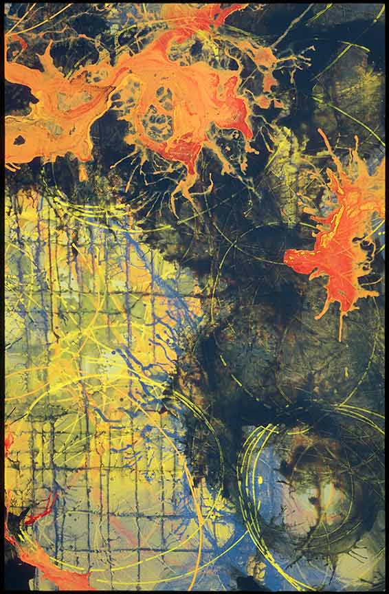 Liberation, 2002, Acrylic on canvas