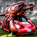 Lobster Car, Maine 2016