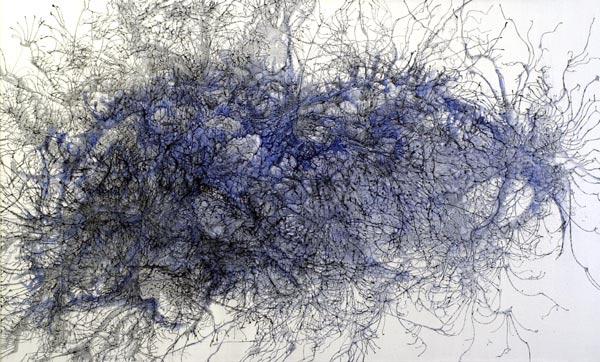 Neurology #3, 2001, acrylic on canvas