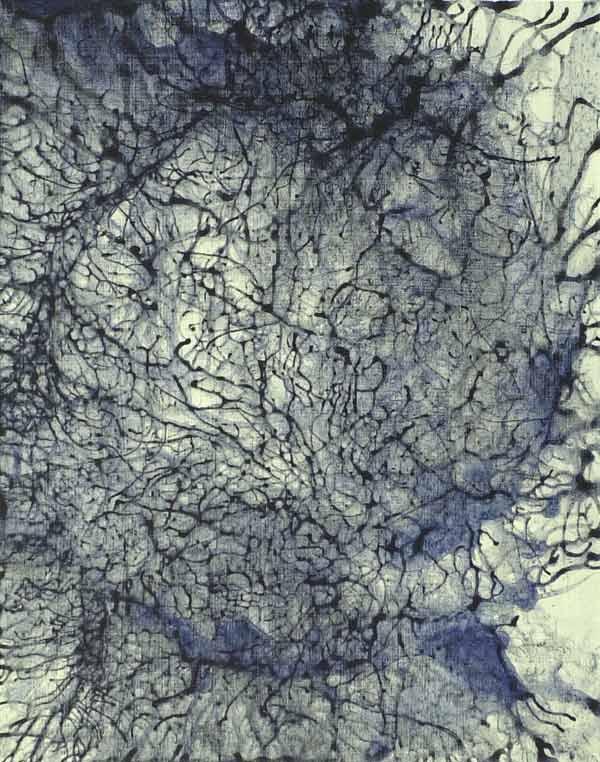 Neurology #4, 2002, acrylic on canvas